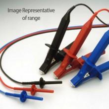 Megger 1002-534 3kV Large Insulated Test Clips