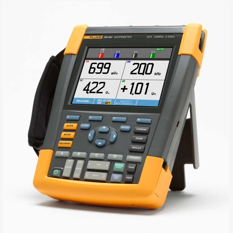Fluke 190-204 4-channel 200 MHz Scopemeter