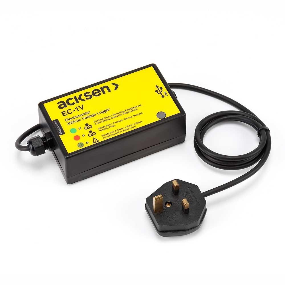 Electrocorder EC-1V Single Phase Voltage Logger
