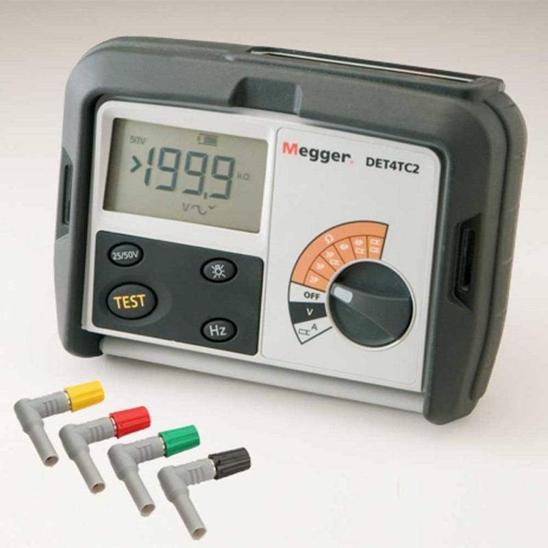 Megger DET4TC2 Digital Ground Tester