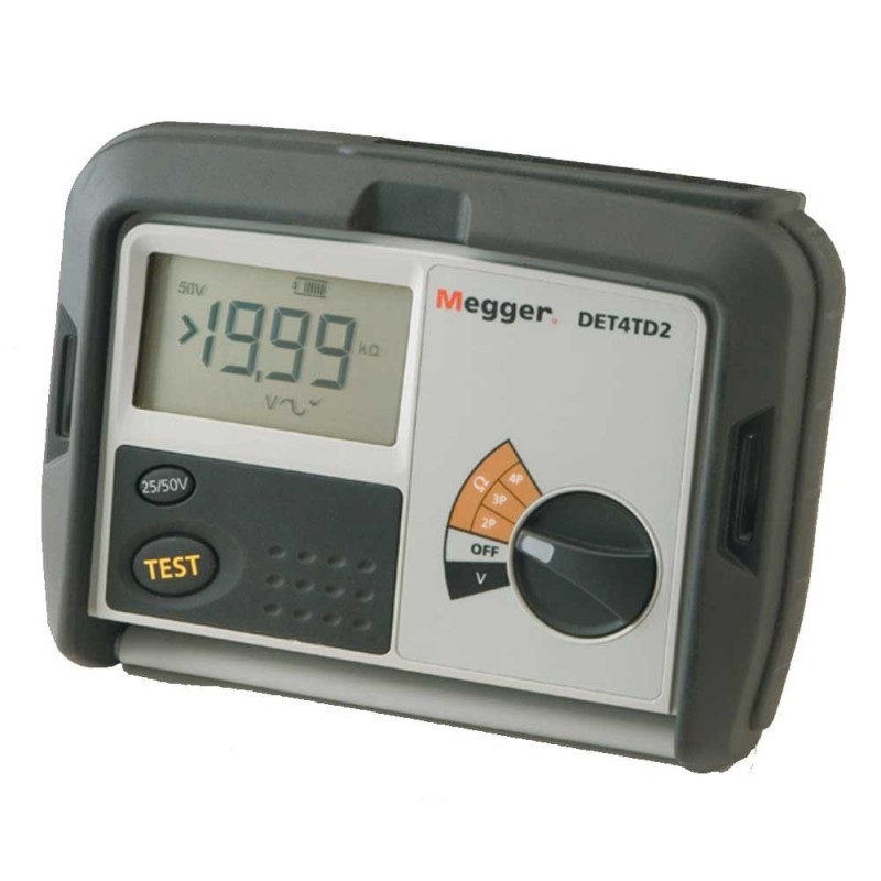 Megger DET4TD2 Four Pole Earth Kit