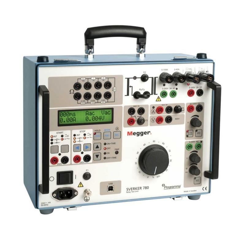 Megger Sverker780 Relay Test Set c/w Acc