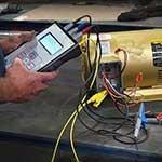 Motor analysis test tools.
