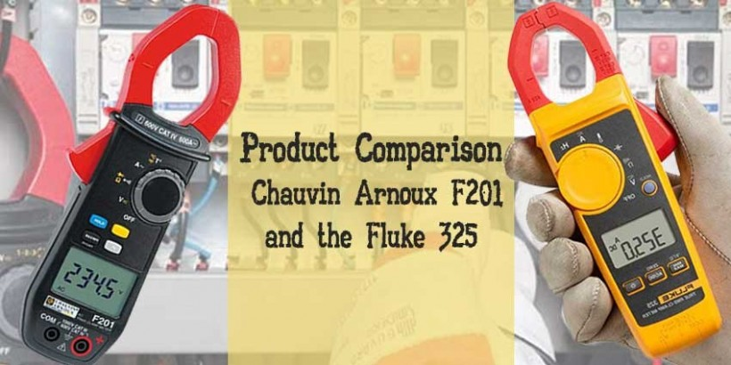 Which Product - Chauvin F201 or the Fluke 325